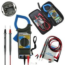 DM6266 LCD Digital Multimeter Clamp Meter AC DC Current Amp OHM Voltage Tester