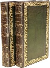 HAMILTON - Memoirs of Count Grammont - 2 vols. - IN A FINE CONTEMPORARY BINDING!