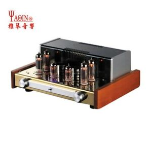 YAQIN MC-84L HIFi Fever EL84 Class A Push Pull Integrated Vacuum Tube Amplifier