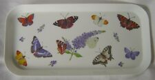 Roy Kirkham Butterfly Garden Small Melamine Serving Sandwich Tray 30 x15cm New