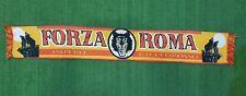 SCIARPA CALCIO BUFANDA SCARF FORZA ROMA IMPERO GIALLOROSSO SHALL ZAPIA OLD Z685
