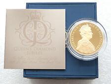 2012 Royal Nuovo di zecca Diamond Jubilee £ 5 Cinque sterline Argento Oro PROOF MEDAGLIA BOX COA