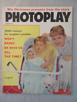 Photoplay Magazine January 1959 Elvis Presley Debbie Reynolds Dick Clark Vintage
