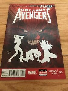 Uncanny Avengers #25 Direct Edition