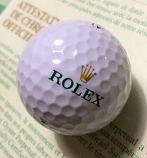 Rolex Titleist 1 PALLINA DA GOLF DA COLLEZIONE Bola PALLINE Golfbälle Palla ゴルフボール 高尔夫球