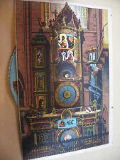 CPA POSTKARTE Animée STASBOURG ORLOGE ASTRONOMIQUE carte postale ancienne