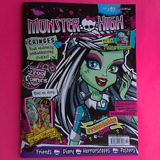 MONSTER HIGH MAGAZINE ISSUE # 2 incl COMICS, POSTER 2013 SINGAPORE EDITION
