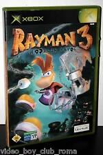 RAYMAN 3 HOODLUM HAVOC GIOCO USATO BUONO STATO XBOX EDIZIONE ITALIANA