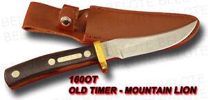 Schrade Old Timer Mountain Lion Delrin w/ Sheath 160OT