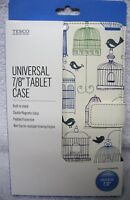 "Tablet Case Bird Cage Double Magnetic Clasp Built in Stand 7/8"" Universal"