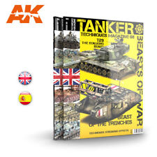 AK-Interactive Tanker Techniques Magazine Issue No.8 - Beasts of War (English)