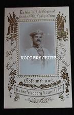 Portrait Foto Kürassier mit Ringkragen Kürassier Rgt. Königin Pommersches Nr. 2