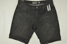 NEW MEN'S INC International Concepts Cavill Denim shorts Black Wash 33 #81-89594