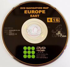 Toyota Lexus ORIGINAL Navigation DVD E1G 2018 East Europe Ost Europa Update Map