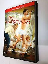 Tre all'improvviso (Commedia 2010) DVD film di Greg Berlanti Con Katherine Heigl