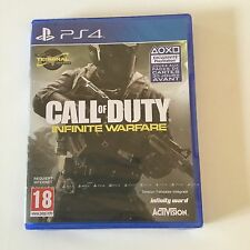 Call Of Duty Infinite Warfare  / NEUF Sous Blister / Ps4