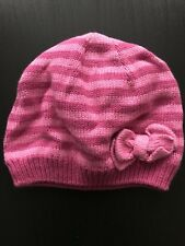 M&Co Baby Girl Knitted Hat 6-12 Months