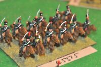 28mm napoleonic / french - light cavalry 12 figures - (45375)