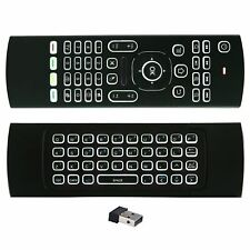 Backlight Mini Wireless Remote Control Fly Air Mouse Keyboard for Android TV Box