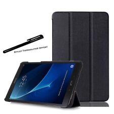 Coque Smart Noir Premium pour Samsung Galaxy Tab A6 10.1 SM-T580 T585