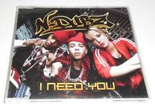 N-DUBZ - I NEED YOU - 2009 UK CD SINGLE