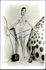 DEBBIE REYNOLDS, DECEASED CARRIE FISHER'S MOM SWIMSUIT SIGNED  8X10 WITH COA