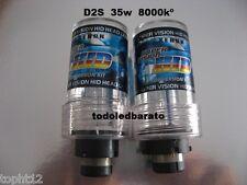 2 Bombillas xenon 35w D2S o D2C 8000kº 8000 BMW AUDI MERCEDES PEUGEOT SEAT