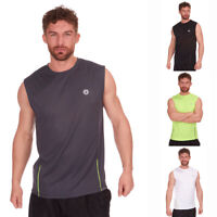 Mens Activewear Sleeveless Sports Top Running Training Gym Vest Tank Top Summer