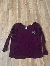Victorias Secret PINK size S over sized long sleeved shirt Very Soft