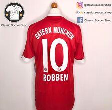 Bayern Munich ROBBEN #10 2009/10 Home Shirt Large / L