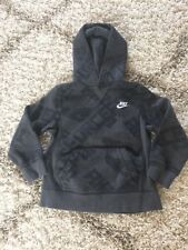 Nike Hoodie  Athletic Boys Sports Youth Size Small (8) Air Force Gray and black