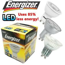 ENERGIZER LED GU10 SPOTLIGHT LAMP BULB 3W 5W ENERGY SAVING COOL/WARM WHITE