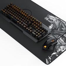 Titanwolf ALUMAR Gaming Set - Tastatur+Maus+XXL Mauspad | mechanisch | 10800dpi