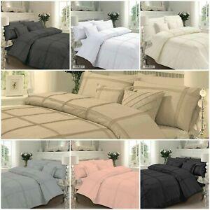 Hotel collection Hamlet Duvet Set Premium Linen Quilt Cover Bedding set All Size