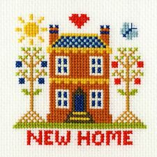 Bothy Threads Cross Stitch Card Kit - New Home Card