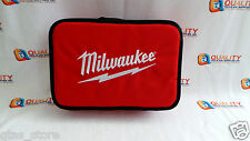 """New Milwaukee 12-1/2"""" M12 Li-Ion Empty Contractor Soft Case Tote Tool Bag"""