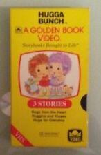 golden book  HUGGA BUNCH  3 stories    VHS VIDEOTAPE