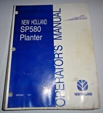 New Holland Sp580 Planter Operators Owners Manual Nh 12/2002