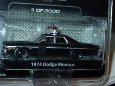 Greenlight 1974 74 DODGE MONACO POLICE 1 of 3000 BLACK BANDIT SERIES