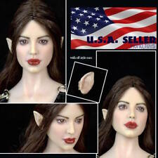 1/6 Fairy Elf Female Head Sculpt Detachable Ears PALE For PHICEN Figure ❶USA❶