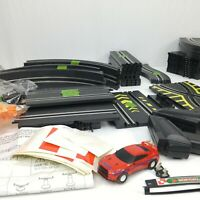 Slot Car 66181 Electric Power Road Racing Set Loop Chase Lot INCOMPLETE