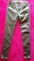 7 for all mankind Designer Jeans Sz 26 Womens Rose Gold Metallic The Skinny