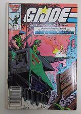 GI Joe Vol. 1 No.50 August 1986 Very Good Condition Marvel Comics