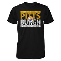 Pittsburgh Steelers Run Pittsburg Men's T Shirt