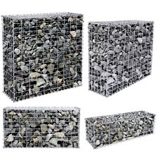 More details for songmics gabion stone basket retaining wall garden wire cage fench privacy fench