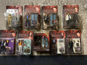 Lot / Set Of 9 ANGEL BUFFY THE VAMPIRE SLAYER Action Figures RARE!