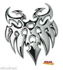 Cromo Insignia tatuaje Tribal O.e.m Calidad insignia del coche Auto Adhesivo 3d Emblem