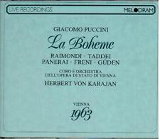 Puccini: La Boheme / Karajan, Freni, Raimondi, Panerai, Guden, Vienna 1963 - CD