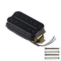 Black Color Electric Guitar Humbucker Pickup Double Coil Neck Pickup Adjustable