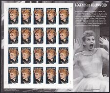 2001 Lucille Ball MINT Sheet 20 34¢ Stamps 3523 Legends of Hollywood I Love Lucy